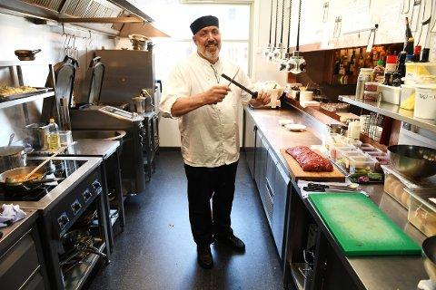 Brede Bystadhaugen har vært på egen lønningsliste hele livet. Til nå. Kokken fra Fåvang har inntatt kjøkkenet på Annis Spisested i Fåvang med kort veg til råvarene.