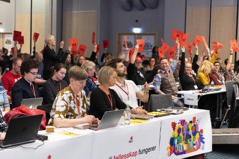 KOMMUNIST: Rødt-leder Bjørnar Moxnes mener «kommunisme» er en snubletråd for videre vekst.
