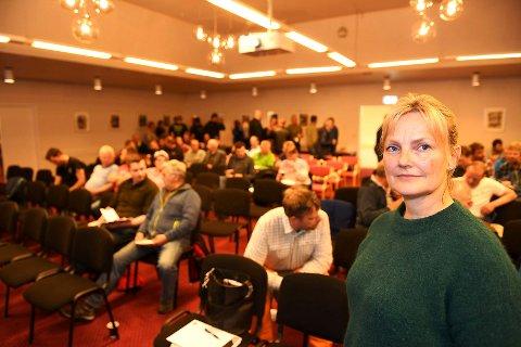 Styreleder i Nortura, Trine Hasvang Vaag sier at fjøset på Rudshøgda må en uansett gjøre noe med - og at dette sier ingenting om strukturprosessen som nå pågår i konsernet.