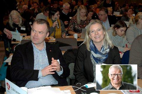 Ola E. Skrautvol mener Lillehammer Ap ved ordfører Espen Granbrg Johnsen og ordførerkandidat Ingunn Trosholmen har ekskludert seg fra en åpen debatt gjennom udugelige lederskap.