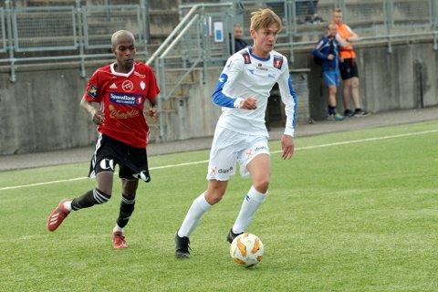 Erik Øyberg Toftaker pungterte kampen mot Redalen da han scoret 3-0 målet for Lillehammer FK i fredagens 4. divisjonskamp på Stampesletta.