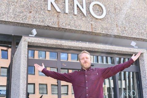 Mikkel Brænne Sandemose er regissør bak Askeladden i Dovregubbens hall og Askeladden i Soria Moria slott. Sistnevnte ferdigstilles på Lillehammer nå. Foto: Hanna Willoch.