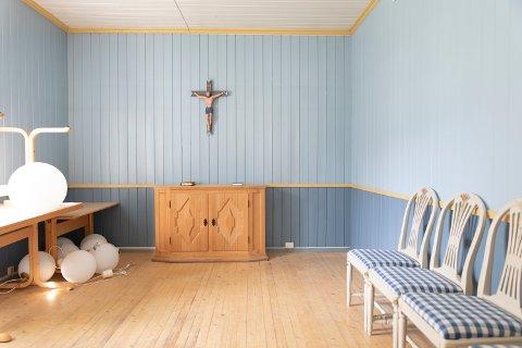 Kapellet på Dale-Gudbrands Gård er både for pilegrimsvandrende og alle som måtte komme forbi med behov for et stille rom hvor tiden kan stoppe opp litt i en travel hverdag.