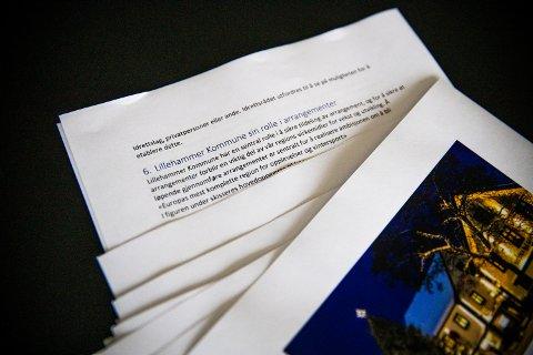 Dette er dokumentet rådmannen i Lillehammer kommunen ikke vil at du skal se.
