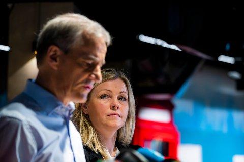 SATSING: Partisekretær Kjersti Stenseng og partileder Jonas Gahr Støre lover et mer tydelig politisk Ap fram mot valget i 2021.