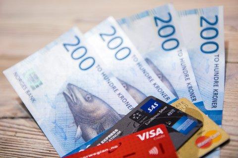 LITE IGJEN: Om du setter pengene dine inn på bankkonto, gir ikke det all verdens med renteinntekter i løpet av et år.
