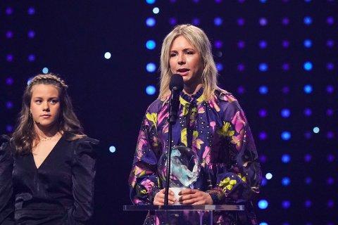 HEDRET: Maren Lundby ble kåret til årets forbilde under Idrettsgallaen.