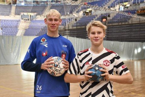 Fabian og Henrik motiveres av å bli fulgt opp fysisk for å forhindre skader.