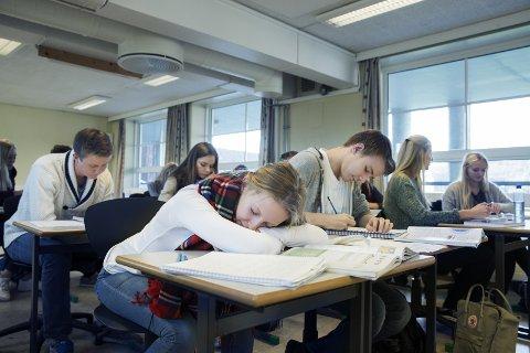 GJENNOMFØRING: Flere elever gjennomfører året da skolehverdagen ble en annen.