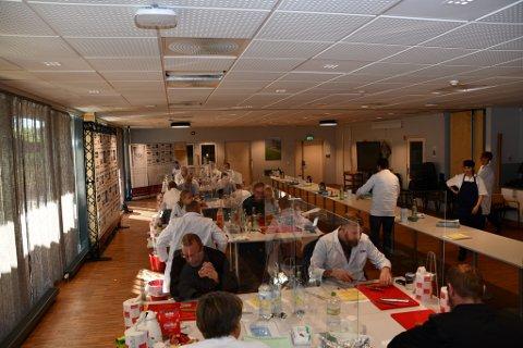 Her bedømmes de rundt 300 produktene og 56 bedriftene som deltok i NM i kjøttprodukter.