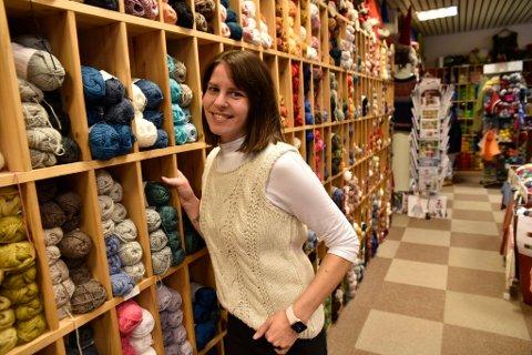Una Talakic Nymoen har kjøpt butikken Husflid og brukskunst på Otta.