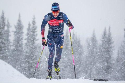 KOMMER TROLIG: Johannes Høsflot Klæbo kan bli å se på Lillehammer i starten av desember.