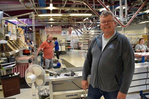 Arild de Presno er daglig leder for Interfil AS i Skjåk.