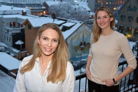 ENGASJERTE: Silje Owrenn fra Lillehammer og Birgitte Bay fra Ringebu vil hjelpe unge og engasjerte folk i Lillehammer og Gudbrandsdalen å løfte hverandre opp.