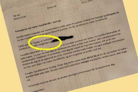 En 93 år gammel kvinne på Lillehammer fikk sjokk da hun ble anklaget for å ha stjålet en kattunge.