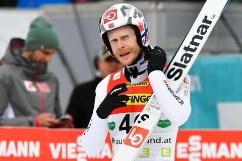 PÅ PALLEN: Robert Johansson  hoppet seg opp fra 25 til tredje plass.