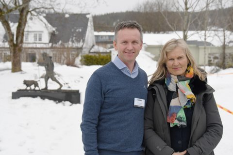 TØFF TID: Reiselivssjefen i Visit Lillehammer, Ove Gjesdal og administrerende direktør i NHO Reiseliv, Kristin Krohn Devold håper på momsreduksjon dersom korona-epidemien vedvarer.