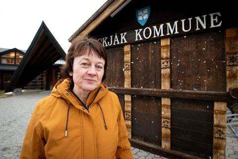 REAGERER: Ordfører i Skjåk, Edel Kveen (Sp), er ikke fornøyd med ønskelisten fra Statens vegvesen i forkant av den nye Nasjonale transportplanen. Hun skulle helst sett at riksveg 15 gjennom Ottadalen og vestover var på lista.