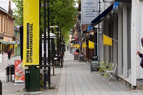 TYDELIGE TEGN: Norsk Litteraturfestival i klassisk versjon er avlyst, men en liten digital litteraturfestival korona-style foregår i helga.