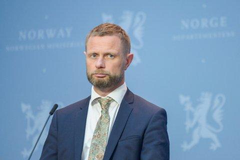 Helse- og omsorgsminister Bent Høie (H) bekreftet tirsdag at koronavaksinen skal bli gratis for alle