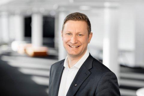 Amund Tøftum (41) fra Gausdal blir ny konsernsjef i AF Gruppen.