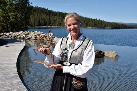 Søndag ble forfatter Maja Lunde tildelt prisen som årets Peer Gynt.
