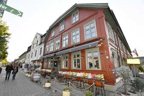 Restauranten Heim i gågata i Lillehammer var eneste av de fem Heim-restaurantene som gikk med overskudd i fjor.