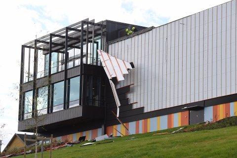 FALLER AV: Prosjektlederen for byggingen av Fjell skole, sier at hendelsen ikke skulle ha skjedd.