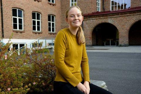"""VIL TA DEL I DEMOKRATIET: Elevrådet på Lillehammer VGS får beskjed om at """"det er bra at de er engasjerte"""", men sitter igjen med en følelse av å ikke bli tatt på alvor."""