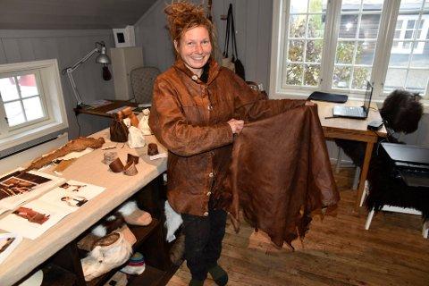Nå er Sofie Kleppe klar til å utvikle sin egen kolleksjon.