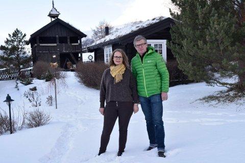 Gudrun og Odd Joar Ramstad utvikler eiendommen fra vanlig gårdsdrift til mange forskjellige virksomheter.