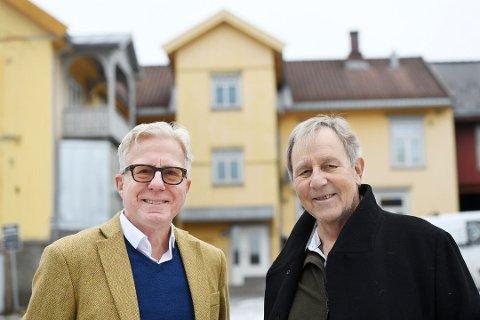 Werner Forr Nystuen og Kristian Strandenes i Ersgaard Framnes AS.