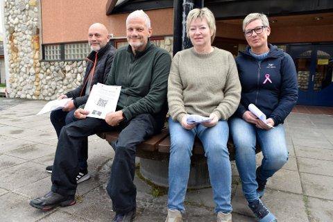 Brynjar Berge, Geir Arne Hageland, Reidun Øvre Øygard og Gro Anita Myhren  utgjør, sammen med Ingerid Bjørkås Svendsgard, prosjektgruppa.