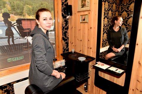 Nadia Boniuk reiste fra Ukraina og etablerte egen bedrift på Lesja.