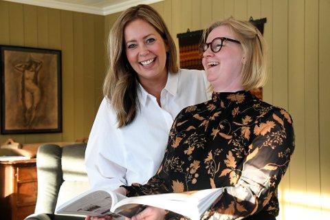 Elise Løkken (36) og Silje Kristine Bjørke (36) er barndomsvenninner. Nå blir de også forretningspartnere.