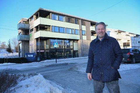 Klar for nye lokaler: Modølen Tormod Kvisler leder firmaet som skal ta over de ledige lokalene i Økelsrudgården i Moelv.