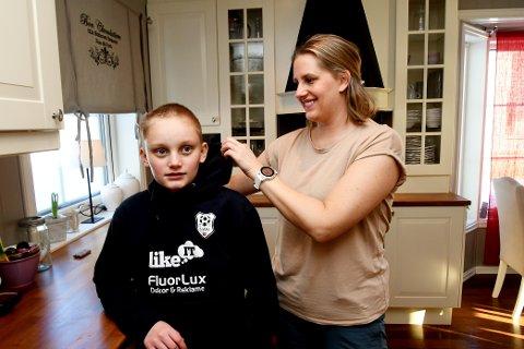 Mamma Ann- Malen Dokken Bråten er sjeleglad for at sonen Iver kom frå akeulykka med helsa i behald.
