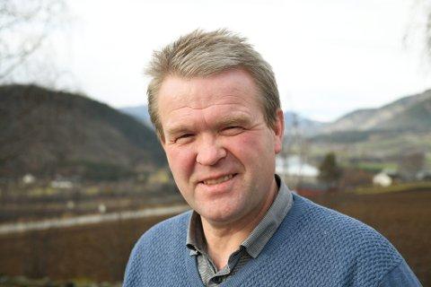 Ordfører Ole Tvete Muriteigen i Sør-Fron.
