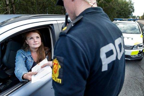 PÅ VEGENE: Politiet på Østlandet kommer til å behandle trafikkbildet som om det er et helt vanlig år, selv om de tror det vil bli roligere