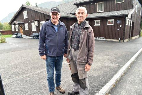 To avb de mange ildsjelene som holder liv i Solvang på Otta, Tor Høye og Oddbjørn Haugen.