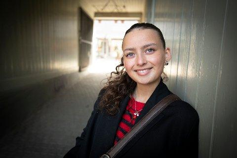 Til høsten begynner Maria Bøe Tesfamichael på den anerkjente moteskolen Polimoda i Firenze i Italia.