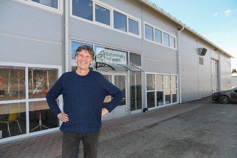Klar for innsats: Klaaspeter Kuperus er ansatt som daglig leder for Matsentralen Innlandet på Rudshøgda.