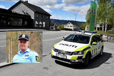POLITIRÅD: Et av temaene som har politisjef Terje Krogstad har drøftet i politirådene, er råkjøring blant ungdom.