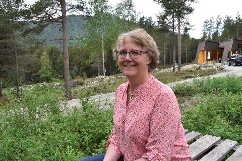 Fungerende ordfører, Guri Ruste, håper rimelige tomter og fin natur skal tiltrekke seg nye innbyggere.