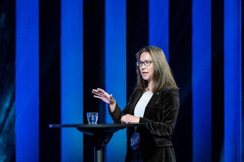 RETT TIL Å MENE: -Selv når du uttrykker hatet ditt, skal det ganske mye til før det du sier er ulovlig, sier Anine Kierulf. Hun er ekspert på ytringsfrihet.