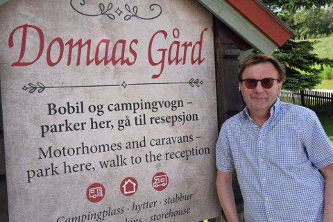 Roar Domaas og familien skal satse millioner på å videreutvikle gården til turisme.