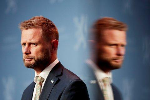 SISTE RUNDE: Helseminister Bent Høie har en siste runde med ordførerne i Innlandet før han behandler saken om syknhusstruktur