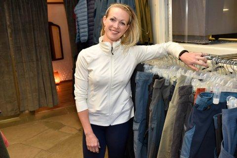 Kristina Skjelberg er ny daglig leder av bedriften Jo Holum Sport på Dombås.