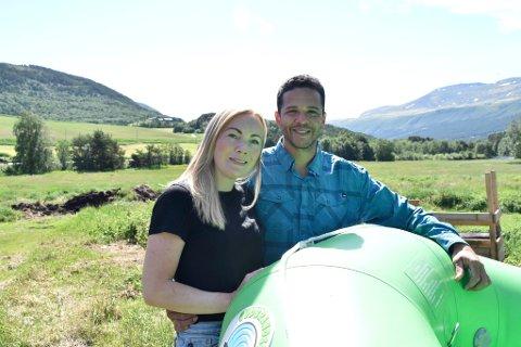 Bærekraftig drift, opplevelser og aktiviteter er stikkord når Camilla og Armando Castro skal videreutvikle gårdsbruk og aktivitetsselskap.