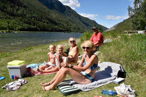 Familien Kaasa-Sørensen fant sommerperlen via Google.